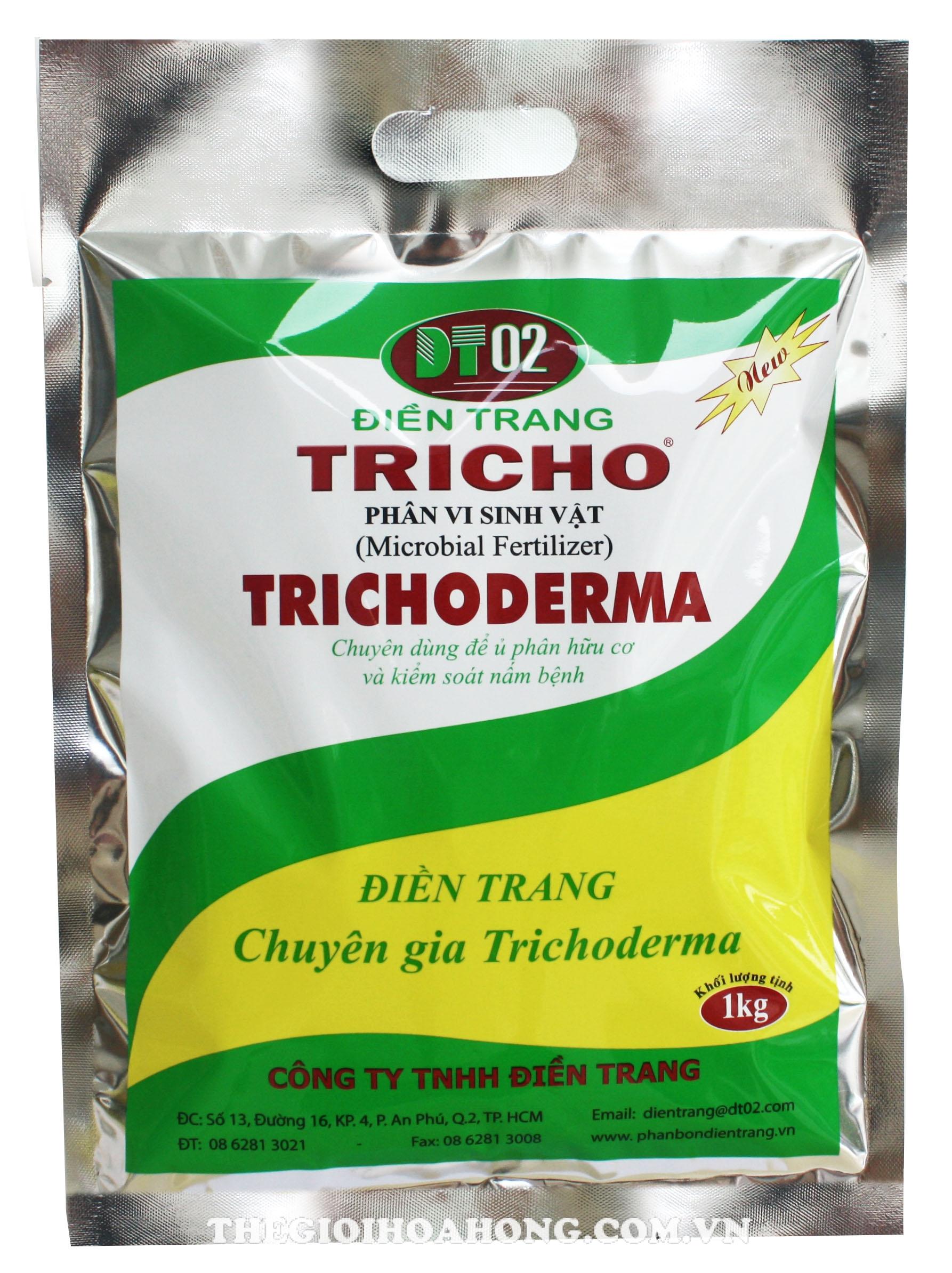 Chế phẩm Trichoderma gây hậu quả rụng lá ở cây hoa hồng