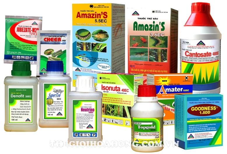 Công ty kinh doanh buôn bán thuốc bảo vệ thực vật
